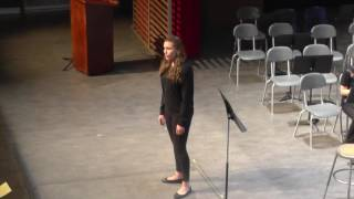 June 13, 2016 - Kate Hartley Vocal Solo at the Music Star Concert Senior Band - Finale 2016