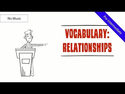 Relationships and Marital Statuses (Vocabulary): Life of Miss Johnson (Comical ESL Video) (No Music)
