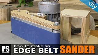 How to Make an Edge Belt Sander / part2