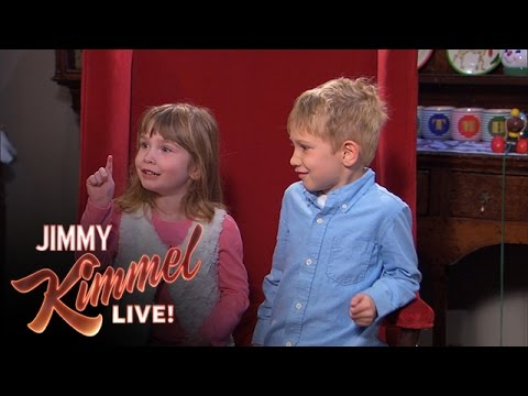 Naughty or Nice with Jimmy Kimmel and Guillermo 2