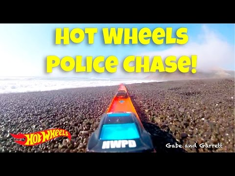 Hot Wheels PD Police Chase The Robber