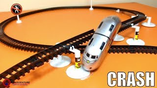 Super Electronic Bullet Train Vs.Toy Car | Train For Kids | Videos For Children | Kids Toy |