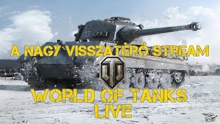 World of Tanks Live stream #8   By cleverland