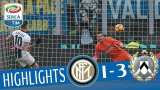 Inter - Udinese 1-3 - Highlights - Giornata 17 - Serie A TIM 2017/18