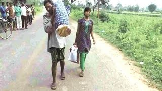 Odisha Man Carried Wife's Body 10 Km With Daughter