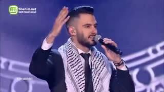 Arab Idol – العروض المباشرة – يعقوب شاهين – يعقوب شاهين – دمي فلسطيني+اعلنها يا شعب اعلنها