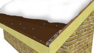 Prevent Ice Dams with the Snofree Roof Panel System