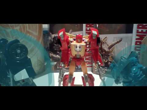 Transformers hot rod stop motion trailer