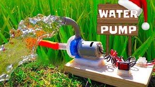 How to Make Powerful Water Pump Wonderful Home Made Pump