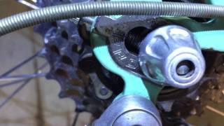 1984 Bianchi Professional Vintage Steel Road Bike Rebuild Part 6