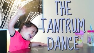 THE TANTRUM DANCE - May 27, 2016 -  ItsJudysLife Vlogs