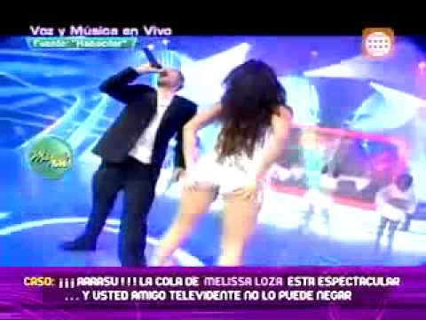 Melissa Loza baila espectacularmente la misma canción que bailo Jennifer López 13 06 2011