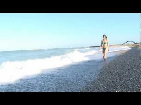 Adrianne Black seaside walking
