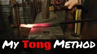 My Method for Forging Blacksmith Tongs
