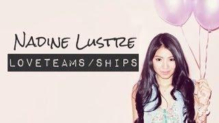 Nadine Lustre Loveteams/Ships