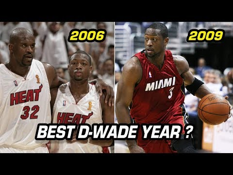 What Year Was Dwyane Wade the Best Version of D Wade