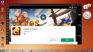 How to Download & Install Clash of Clans in PC 2016-2017 FREE (Windows 7/8/8.1/10)