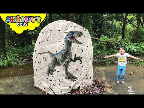 Xxx Mp4 GIANT Jurassic World Egg With 1 000 TOYS Skyheart Opens Biggest Egg With Dinosaurs For Kids 3gp Sex