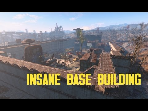 fallout 4 insane base building starlight drive in ultrawide