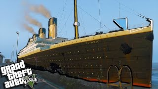 GTA 5 Titanic Mods - Escape RMS Titanic Sinking Simulator Mod!