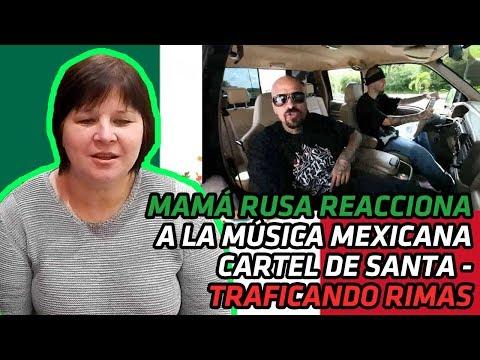 RUSSIAN MOM REACTS TO MEXICAN MUSIC | Cartel De Santa - Traficando Rimas | REACTION