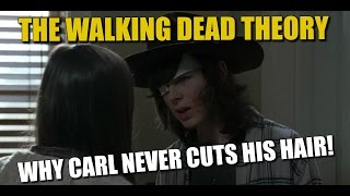 The Walking Dead Theory Why Carl Grimes Never Cuts His Hair