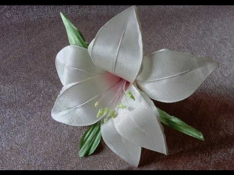 Цветы из ткани своими руками лилия - ФоксТел-Юг