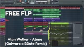 FREE FLP: Alan Walker - Alone (Galwaro x B3nte Remix)