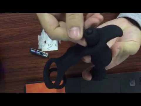 Male Prostate Massager Cock Ring Vibrating Butt Plug Penis Ring