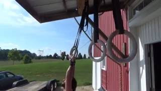 Rich Froning & WWE Seth Rollins Workout- DBall Cleans, Muscle Ups, Clean and Jerks