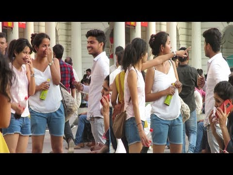 Calling Cute Girls Baby (Jaanu) Prank | Pranks In India 2017 | DFC