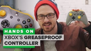 Is this greaseproof Xbox controller really greaseproof?