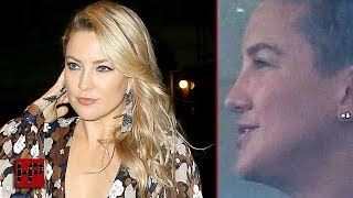 KATE HUDSON SHAVED HER HEAD!!! ALL OF HER HAIR IS GONE