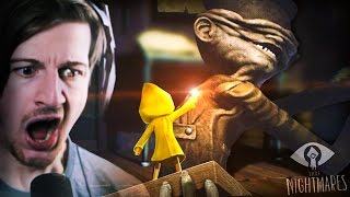 THEY KNOW WE'RE HERE.. || Little Nightmares (Part 1)