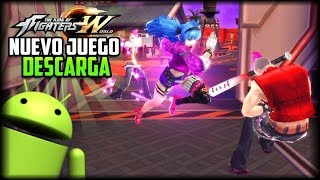 POR FIN! - Descarga Nuevo Juego de King Of Fighters World para Android - APK - Como Registrarse