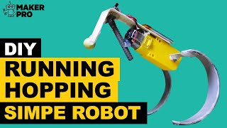 DIY Running | Hopping Simple Robot