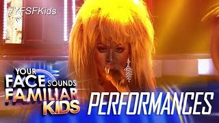 Your Face Sounds Familiar Kids: Lyca Gairanod as Tina Turner - Proud Mary