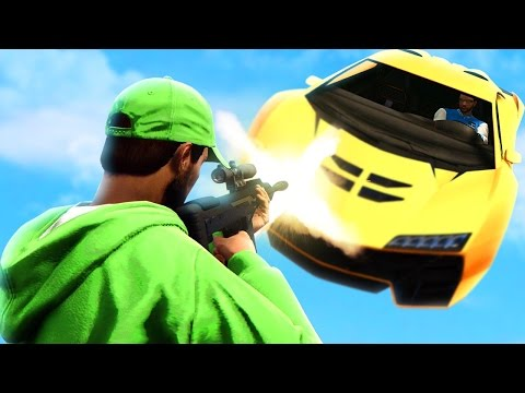 SNIPE THE SUPER CAR! Couple vs Couple (GTA 5 Online PC Multiplayer Funny Moments)