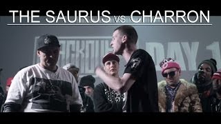 KOTD - Rap Battle - The Saurus vs Charron