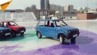 """موسكو: أول بطولة لمناسفات """"كيرلنغ السيارات"""" في العالم"""