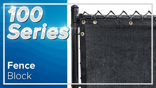 Extreme Block Fence Privacy Screen 98% Blockage
