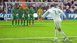 FIFA 18 FREE KICK GOALS COMPILATION #1