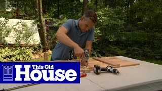 How to Build a Cedar Compost Bench - This Old House