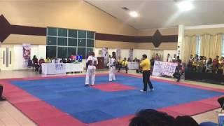 Taekwondo SUKIPT 2018- James Tee Vs Abdul Rashid