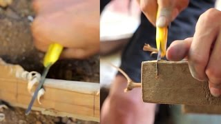 5# DIY Knife and Saw for Survival