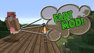 IT'S THE FART MOD! The Hilarious New Minecraft Mod from Adults Only Minecraft