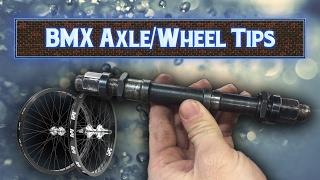 BMX Axle/Wheel HACKS   Remove Stuck Axles/Wheels!