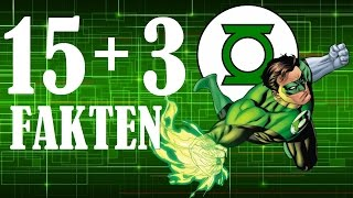 15 + 3 Green Lantern Fakten » NERD AGE Staffel 2 Folge 10