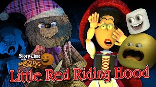 Annoying Orange - Storytime #18: The Little Red Riding Hood