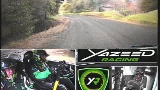 Yazeed Racing ShakeDown in Brother Rally New Zealand 2012 (OnBoard)